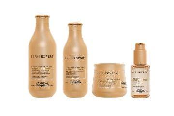 Absolut Repair A gama para cabelos secos, pouco nutridos, muito danificados ou facilmente quebrados.