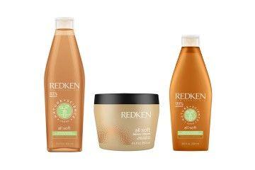 All Soft - a gama de Redken para cabelos secos e quebradiços