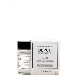 401. Pre e post shave cream skin protector 75ml