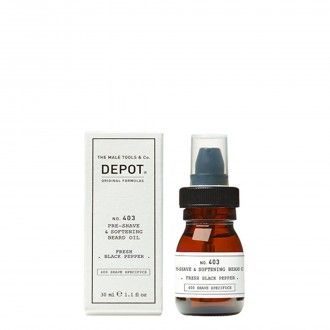 403. Pre-shave e softening beard oil Pepper 30ml