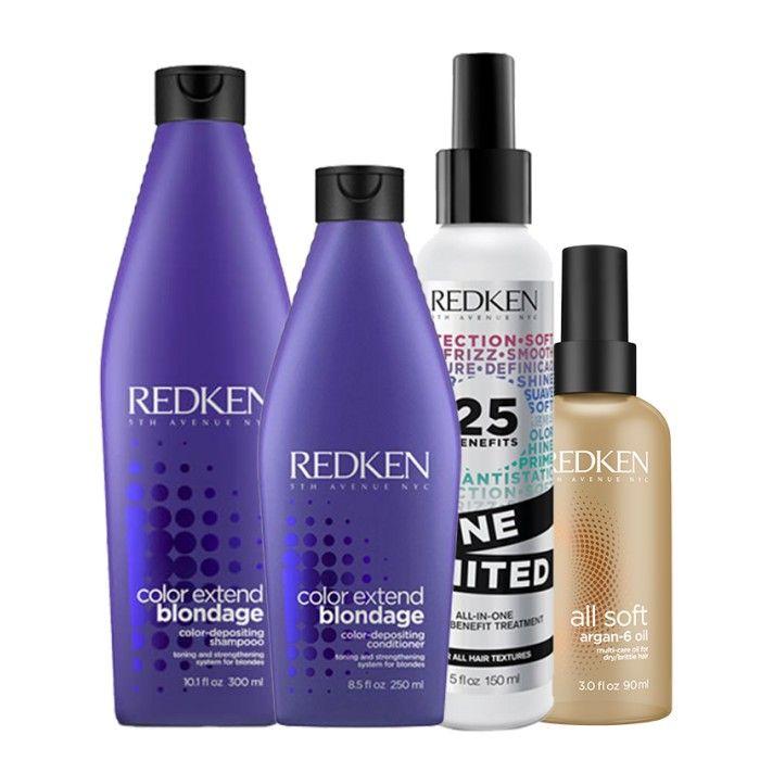 Blondage Pack 4 produtos