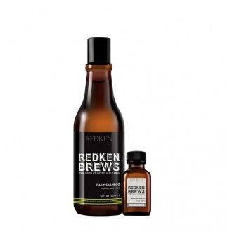 Redken Brews - cuidado do cabelo, rosto e barba