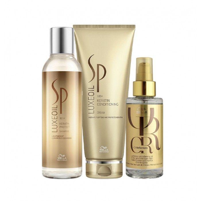 Pack Wella SP Luxe Oil Ultimate cabelos finos sem brilho