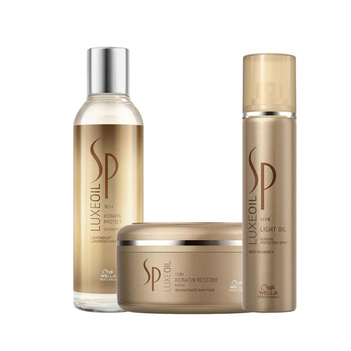 Pack Wella SP Luxe Oil Ultimate Style cabelos grossos