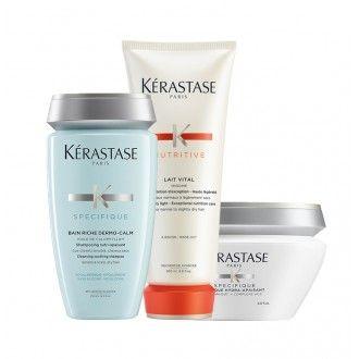 Pack Dermo-calm couro cabeludo sensível e seco