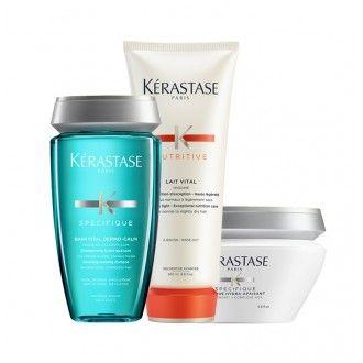 Pack Dermo-calm couro cabeludo sensível e oleoso