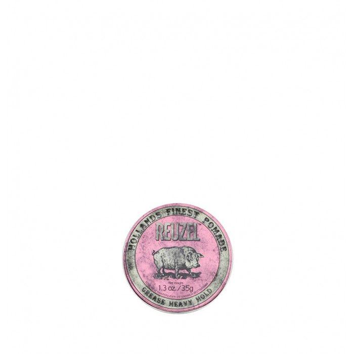 Reuzel Pink Pomade - Heavy Hold Grease 35gr