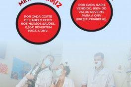 Cidália Cabeleireiros x Operação Nariz Vermelho