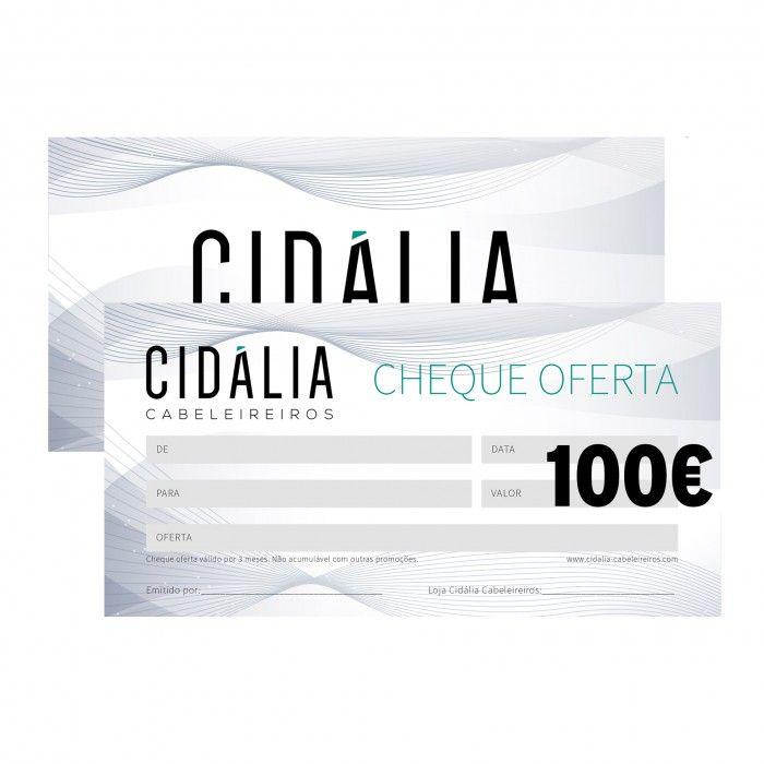 Cheque Oferta 100