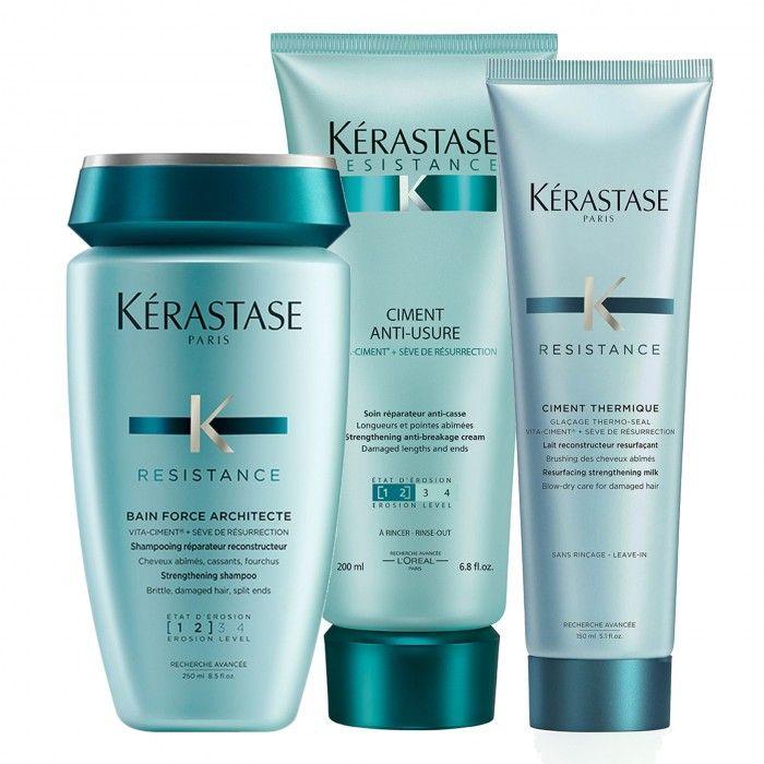 Pack Resistance Force cabelos finos + protetor térmico