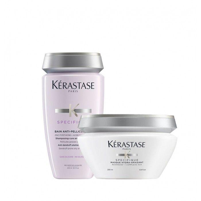 Pack Anti-caspa Shampoo + Máscara