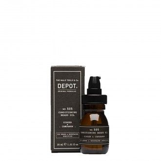 505. Conditioning beard oil Ginger and Cardamon 30ml