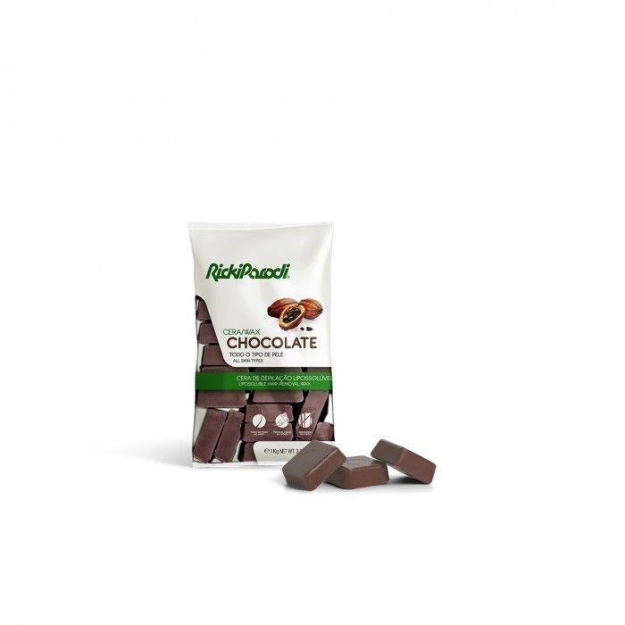 Cera Quente Rickiparodi Chocolate 1 Kg