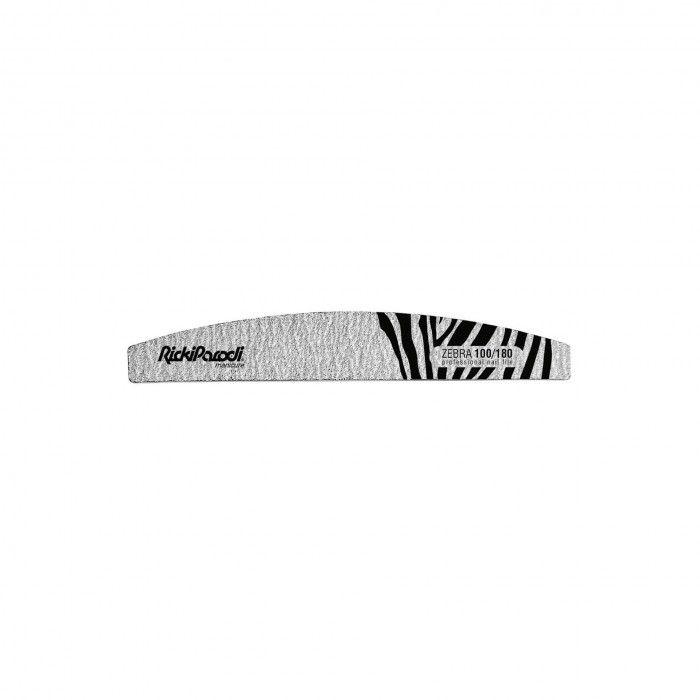 Lima Unhas RickiParodi Meia Lua Zebra 100/180 1 Unid