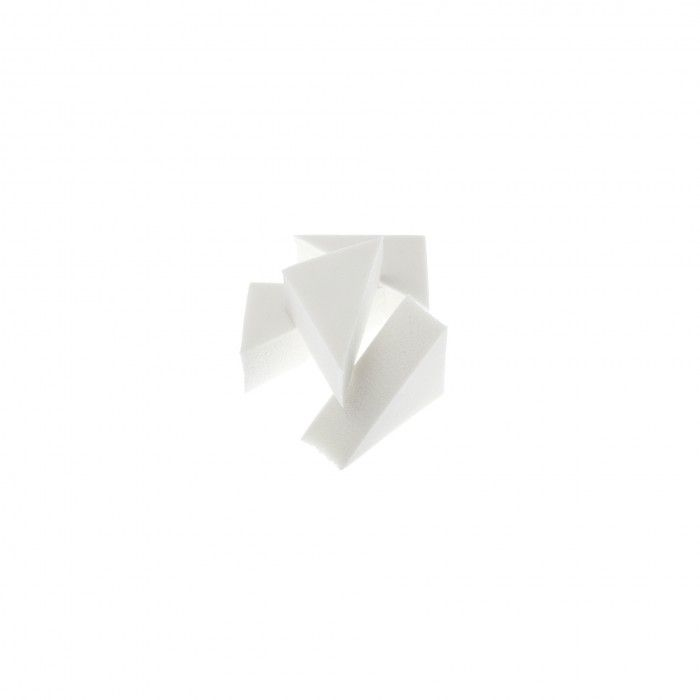 Esponja Maquilhagem Dorleac Triangulares Brancas 1 unid