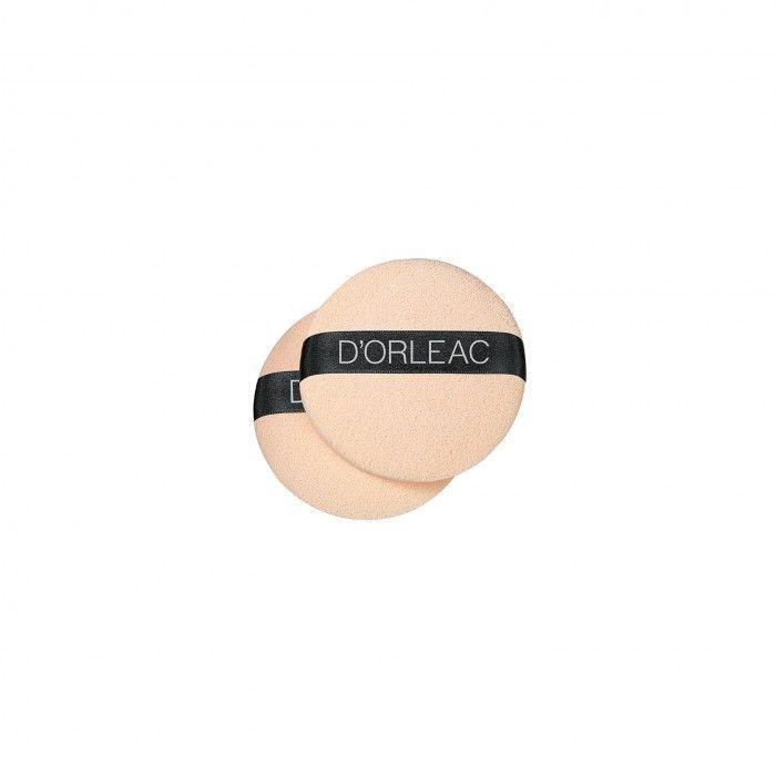 Esponja Maquilhagem Dorleac Redonda Bege 2 Unid