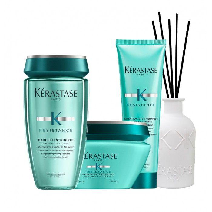 Pack Extentioniste cabelos grossos + protetor térmico
