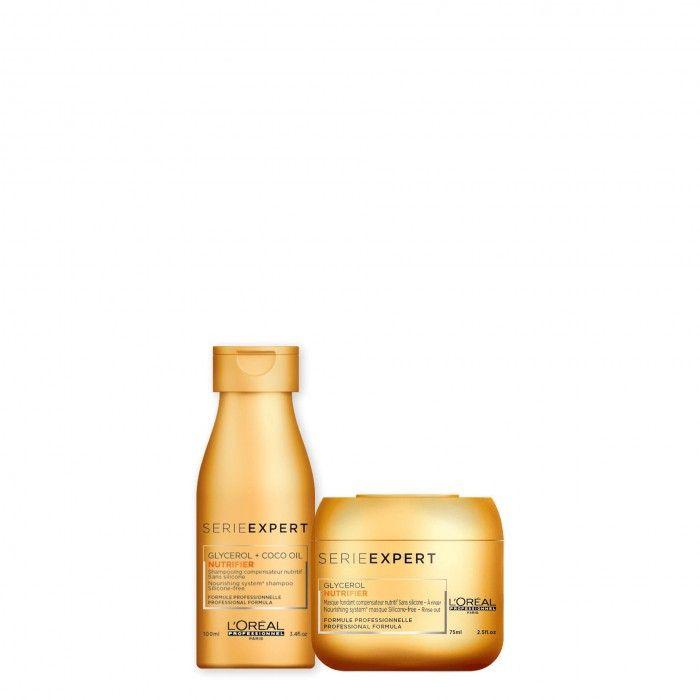Pack TS Nutrifier Shampoo + Máscara