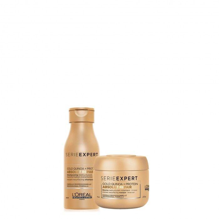 Pack TS Absolut Repair Shampoo + Máscara