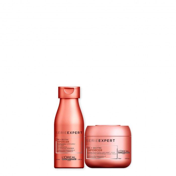 Pack TS Inforcer Shampoo + Máscara