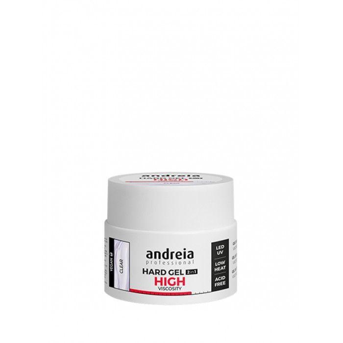 Andreia Profection Hard Gel 2 Em 1 High Viscosity- Clear 44gr