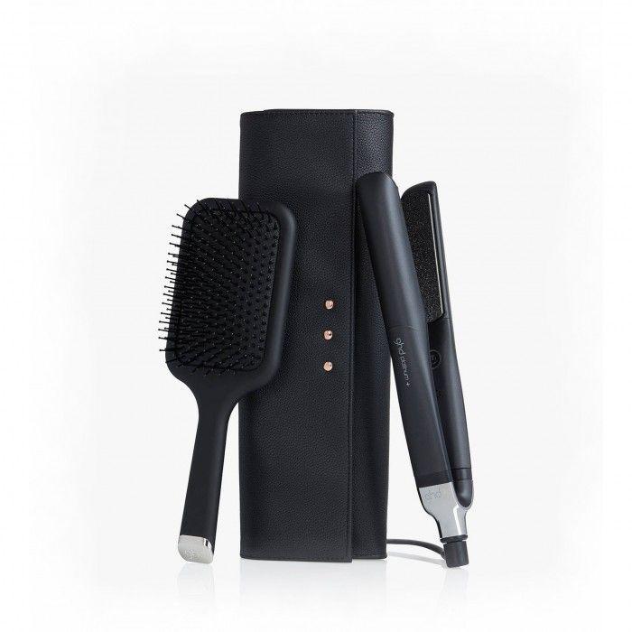 GHD Platinum+ e Paddle Brush Gift Set