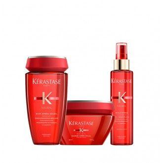Pack Soleil shampoo, máscara e óleo