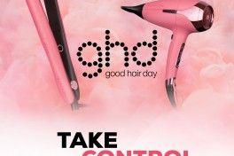 GHD PINK- TAKE CONTROL NOW